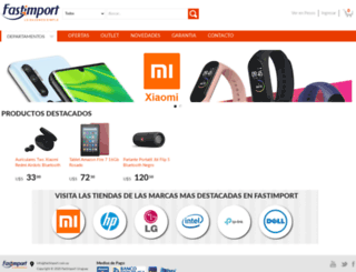fastimport.com.uy screenshot