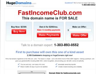 fastincomeclub.com screenshot