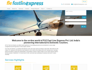 fastlineexpress.com screenshot