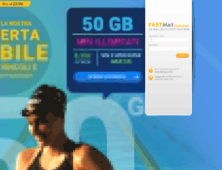 fastmail.fastweb.it screenshot