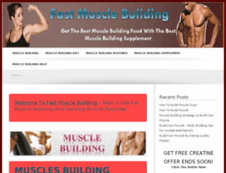 fastmusclebuildingnow.com screenshot