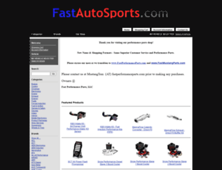 fastmustangparts.com screenshot