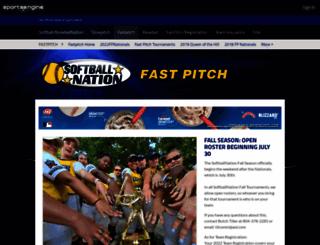 fastpitch.sportsnation.org screenshot