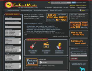 fastrackmusic.com screenshot