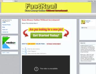 fastreal.blogspot.com screenshot