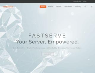 fastserve.com screenshot