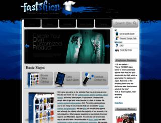 fastshion.com screenshot