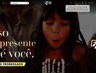 fastshop.com.br screenshot