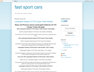 fastsportscarss.blogspot.com screenshot
