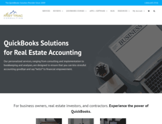 fasttracconsulting.com screenshot