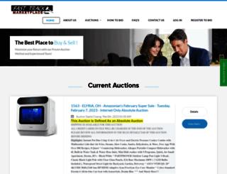 fasttrackauction.com screenshot