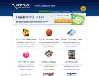 fasttrackfundraising.com screenshot