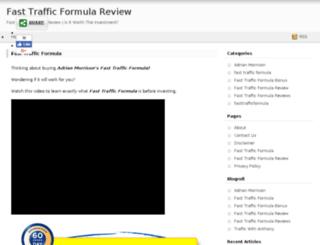 fasttrafficformula.net screenshot