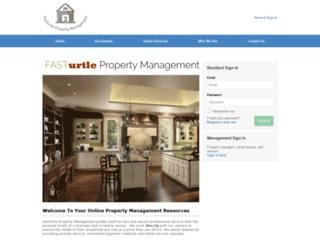 fasturtle.managebuilding.com screenshot