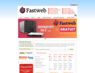 fastweb.ro screenshot