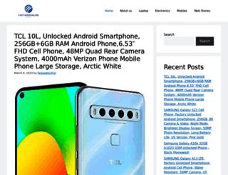 fastwebonline.in screenshot