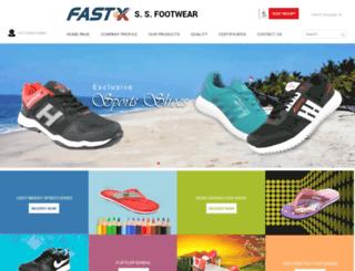 fastxfootwear.com screenshot