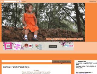 fasyafrina.blogspot.com screenshot