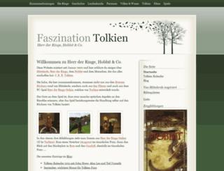 faszination-tolkien.de screenshot