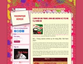 faszinationmensch.com screenshot
