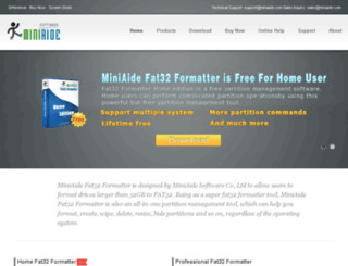 fat-32-formatter.com screenshot