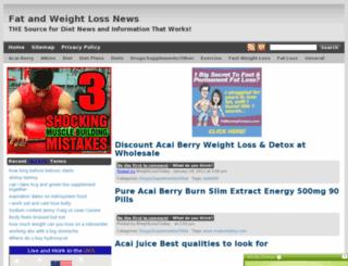 fat-weight-loss-news.com screenshot