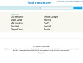 fatal-combat.com screenshot
