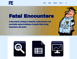 fatalencounters.org screenshot