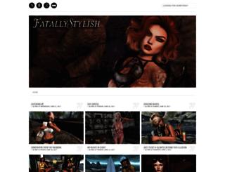 fatallystylish.blogspot.com screenshot