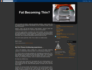 fatbecomingthin.blogspot.com screenshot