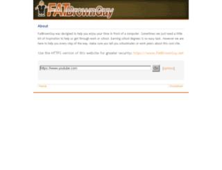 fatbrownguy.net screenshot