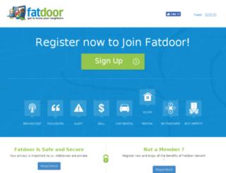 fatdoor.com screenshot
