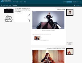 fated-addiction.livejournal.com screenshot