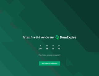 fatex.fr screenshot
