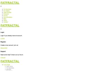 fatfractal.com screenshot