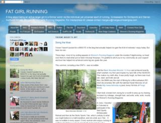 fatgirlrunning-fatrunner.blogspot.com screenshot