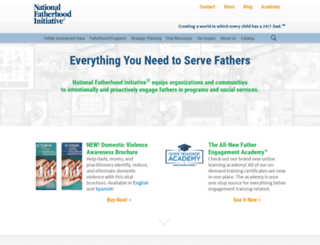 fatherhood.org screenshot