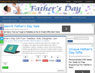 fathersday2014blog.com screenshot