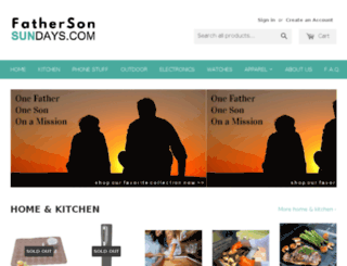 fathersonsundays.com screenshot