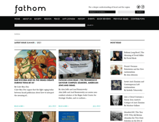 fathomjournal.org screenshot