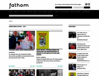 fathomjournal.org screenshot