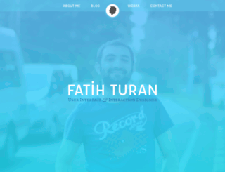 fatihturan.com screenshot