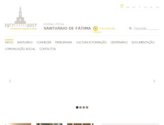 fatima2017.org screenshot