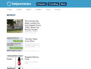 fatjoeviews.com screenshot