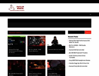 fatlipmusic.com screenshot
