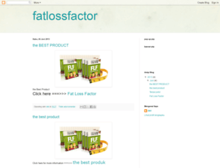 fatlosssucces.blogspot.com screenshot