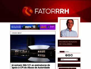 fatorrrh.com.br screenshot
