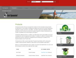 fatspaniel.com screenshot