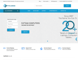 fattanicomputers.com screenshot