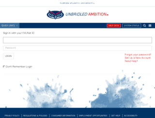 fau.campuslabs.com screenshot